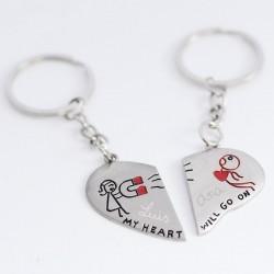 Llaveros personalizados para enamorados