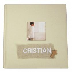 Album de fotos personalizado para Comunión niño