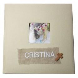 Album de fotos personalizado para Comunión niña