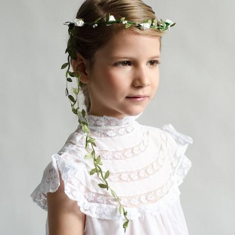 corona flor comunion