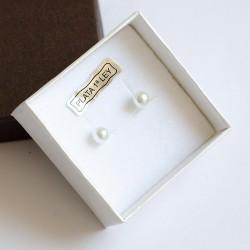 Pendientes bebé de perlas