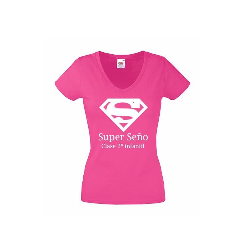 camiseta super seño