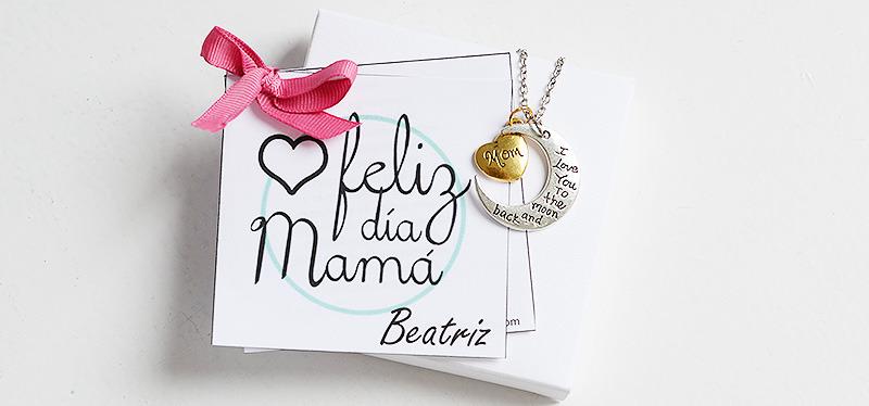 joyas grabadas día de la madre