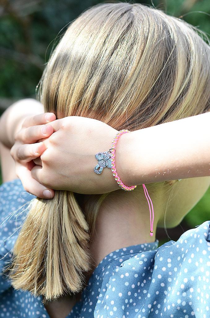 pulsera angelito- detalles comunión