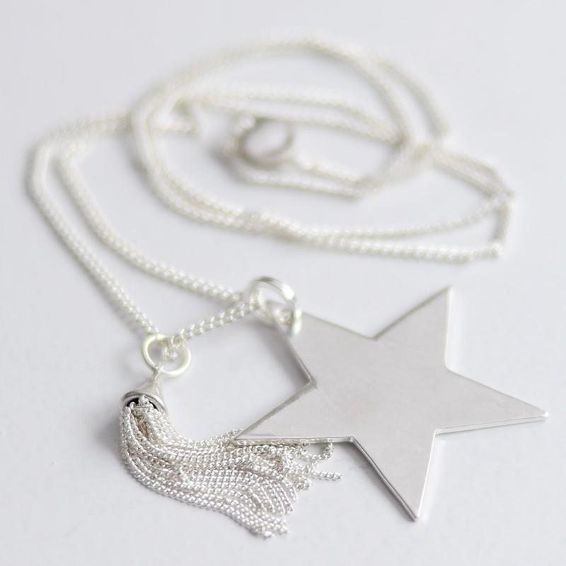 Collar estrella para profesora