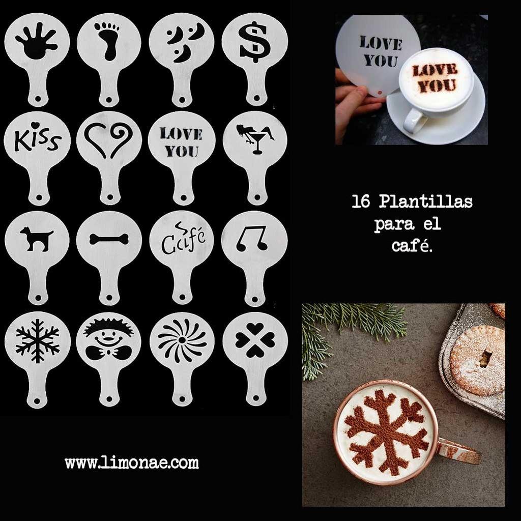plantillas originales para el café