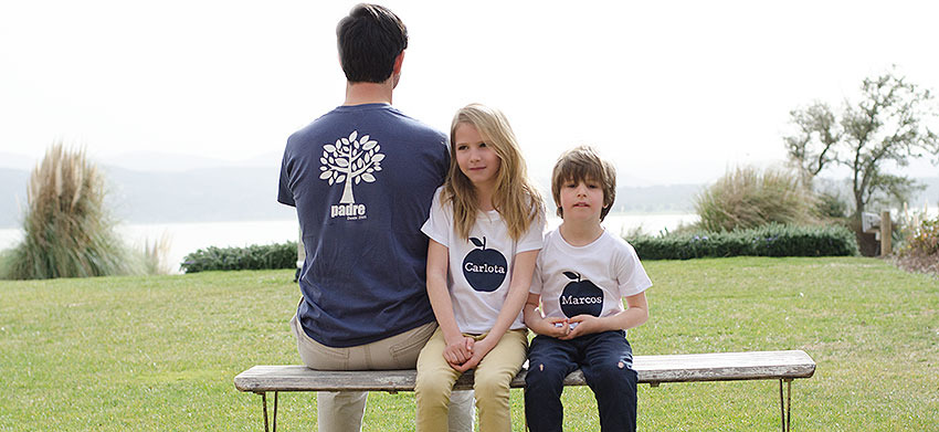 regalos camisetas padres