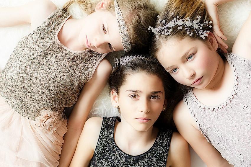 vestidos y tocados de princesa vintage