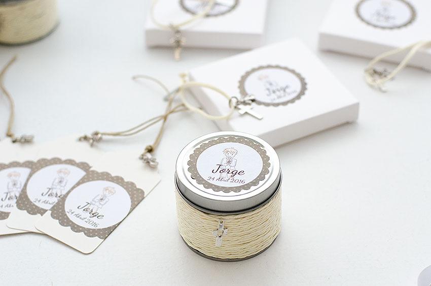 regalos personalizados invitados comunión