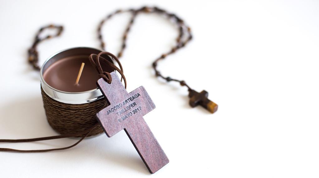 cruz comunión niño