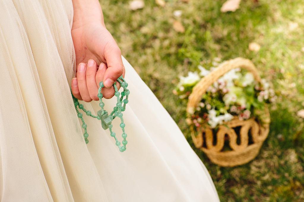 rosarios niñas primera comunión