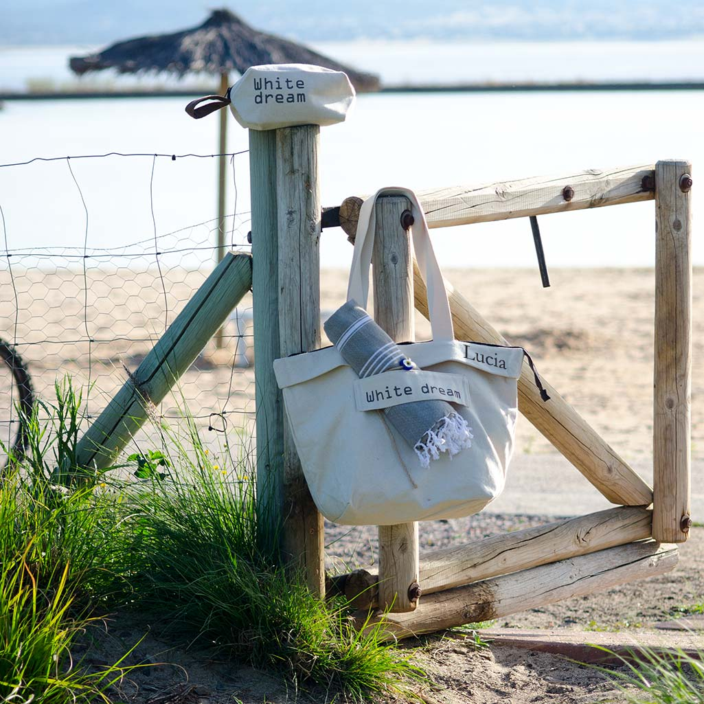 d02a87075 Bolsas de playa y toallas personalizadas. Accesorios de playa y piscina