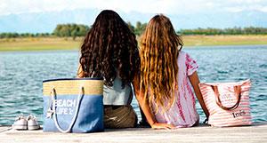 bolsos de playa con nombre
