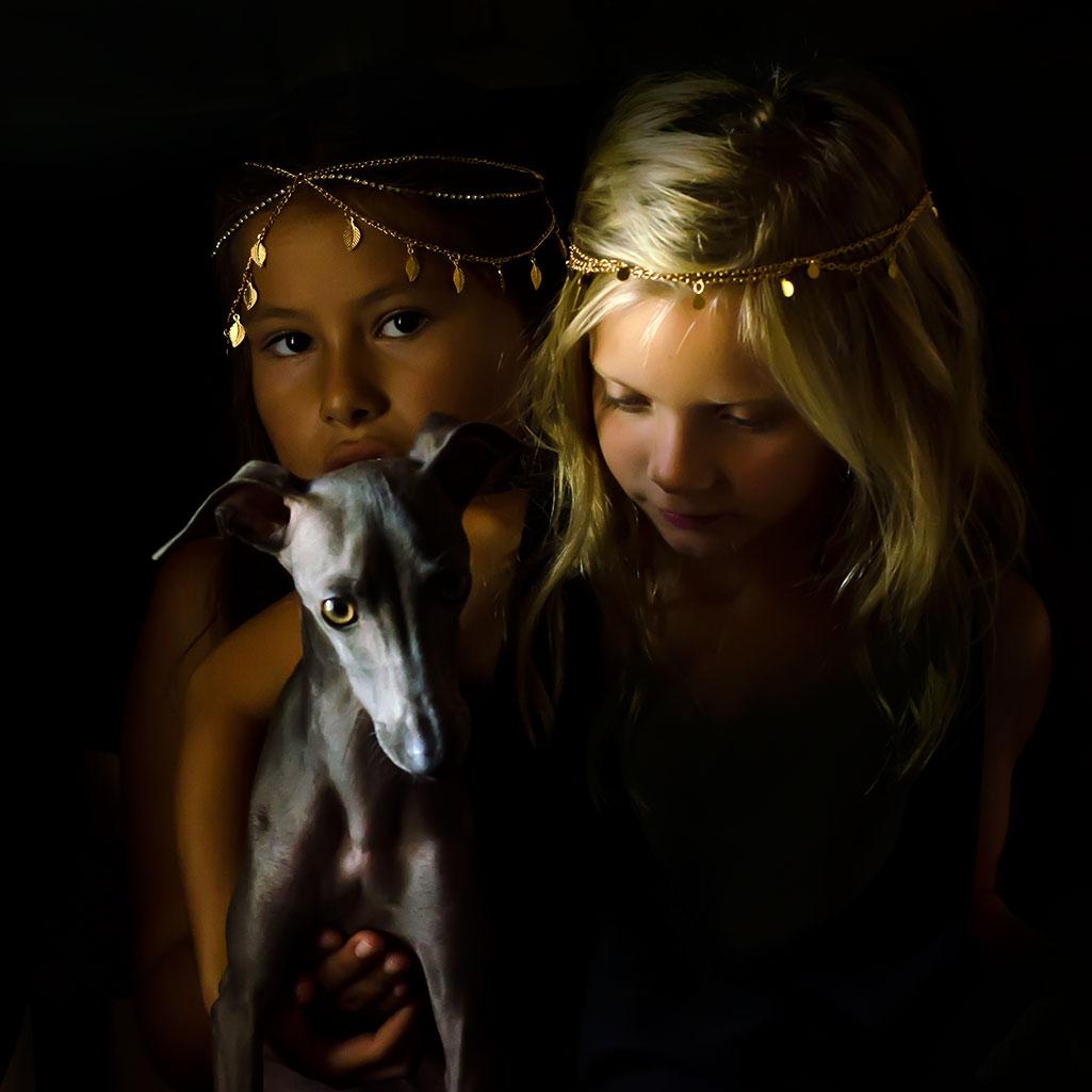 fotografia infantil con tocados