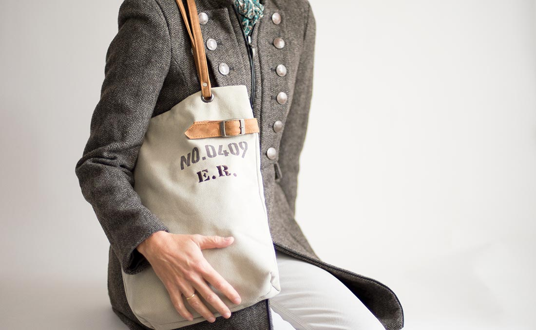 bolsos personalizados con iniciales