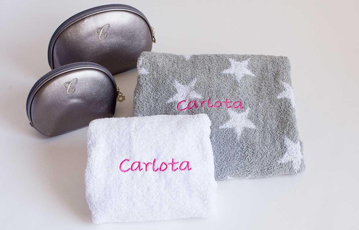 set toallas personalizadas