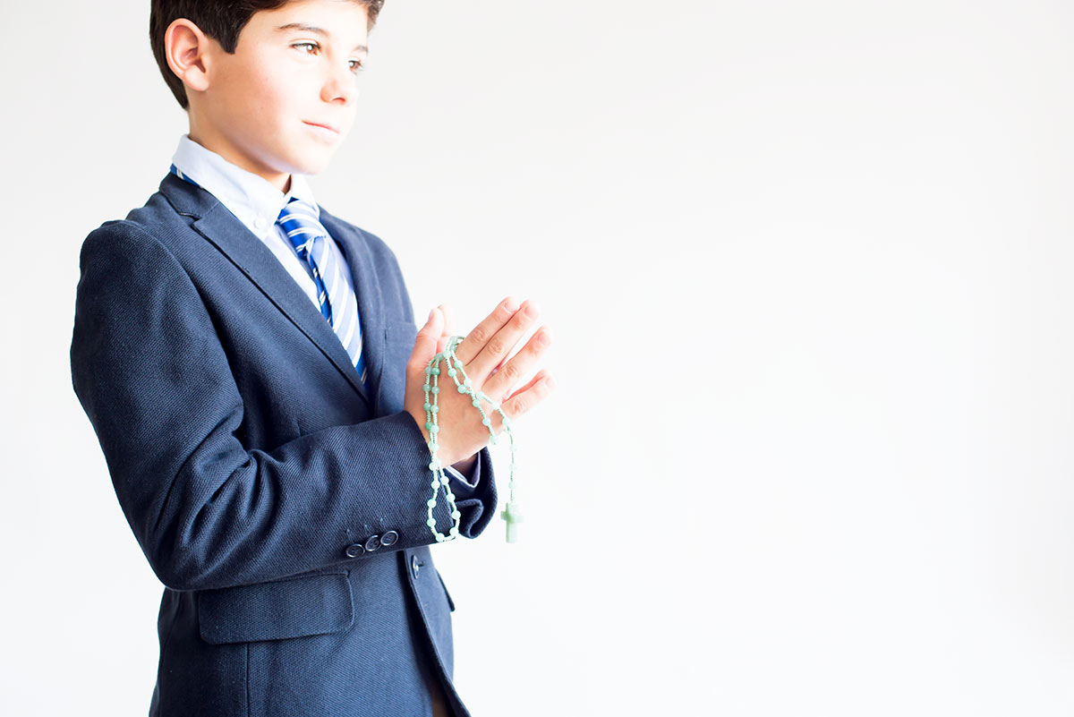 rosario moderno para niños