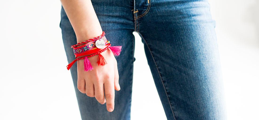 pulsera para verano personalizada