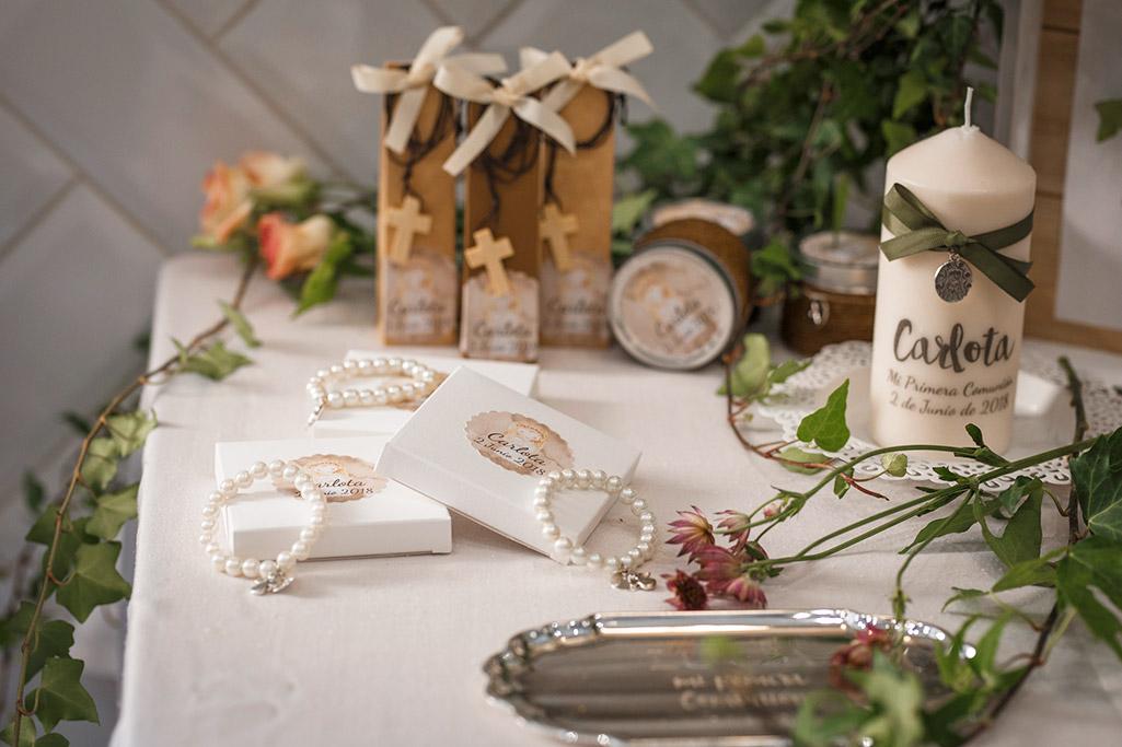 pulseras perlas para invitados
