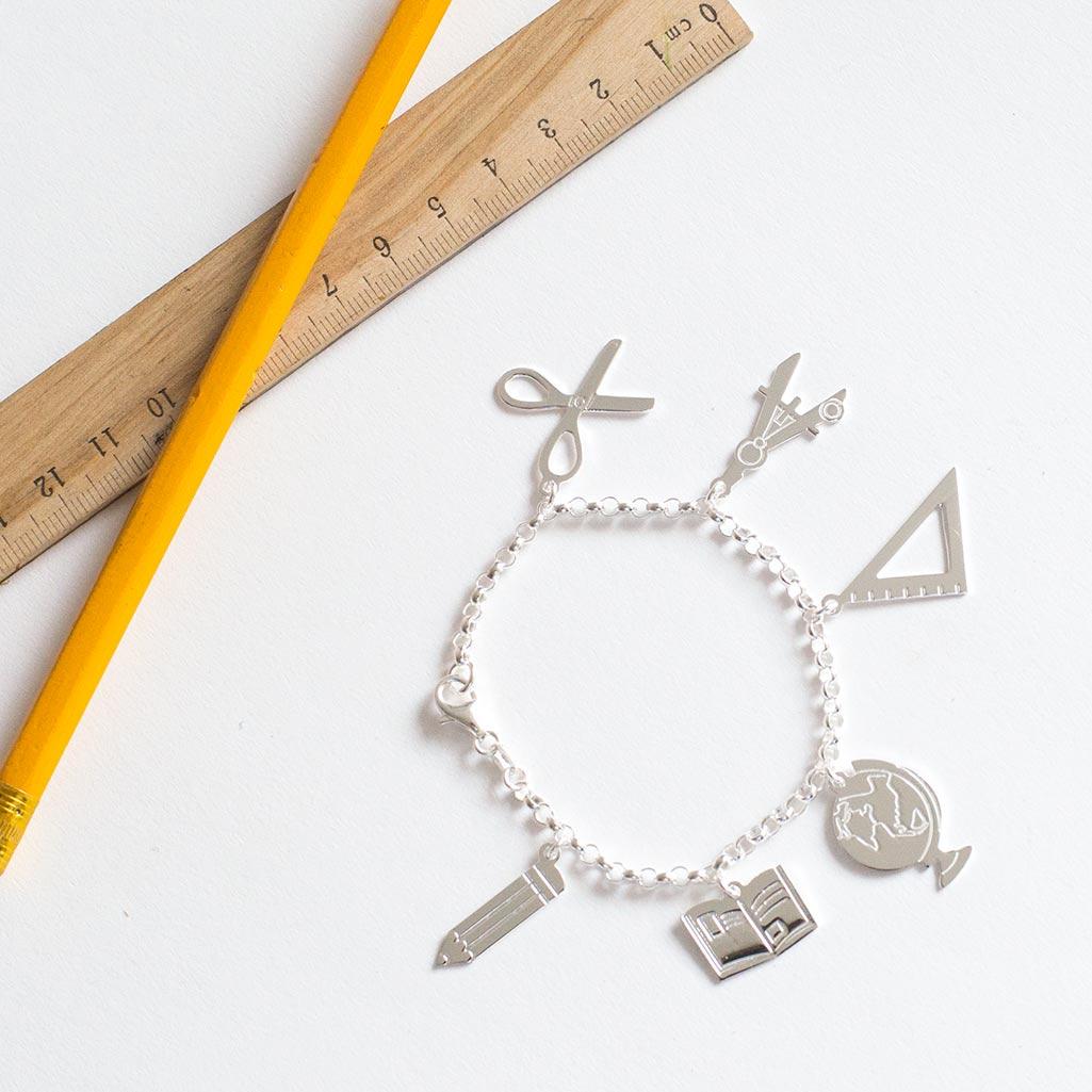pulseras personalizadas para profesoras