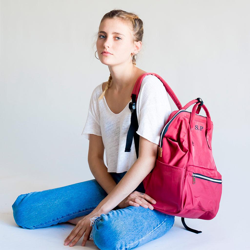 bolso mochila personalizado
