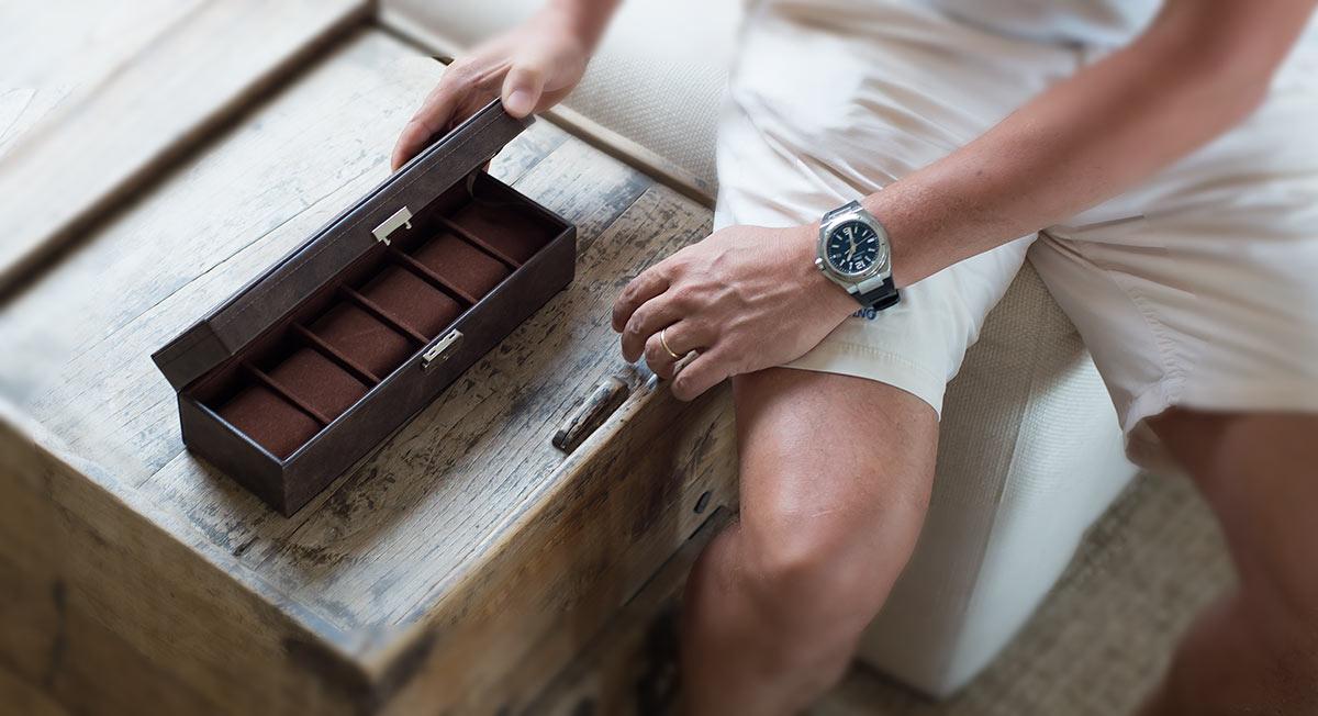 joyero relojero personalizado