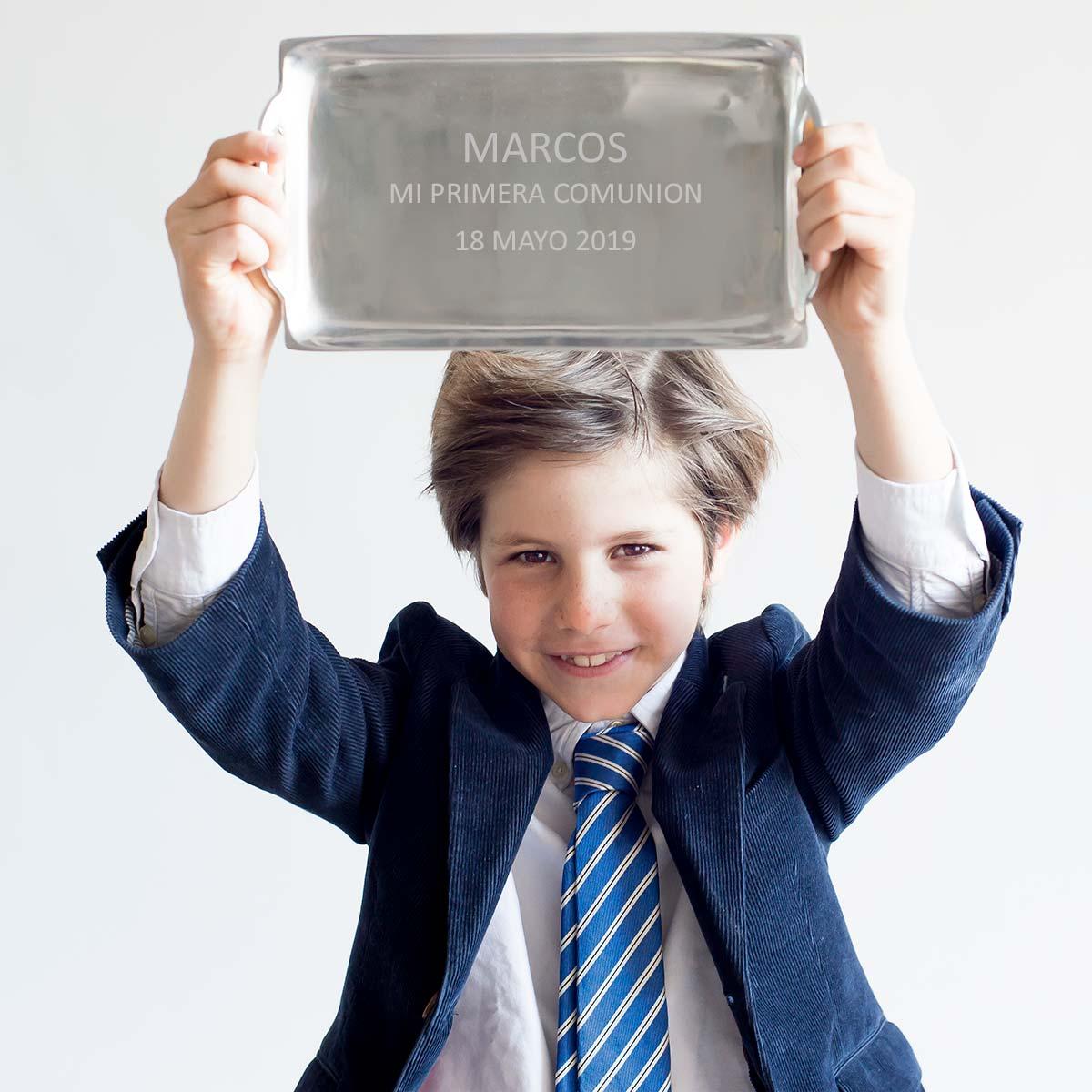 regalo personalizado comunión niño