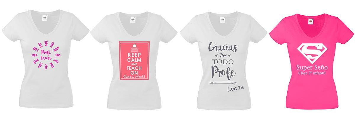 camisetas personalizadas para profesoras