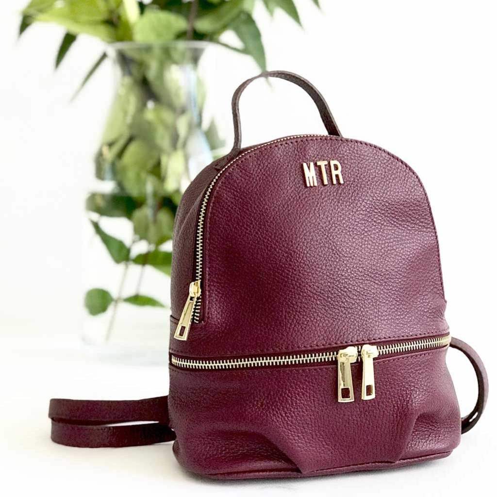 mochila piel personalizadas