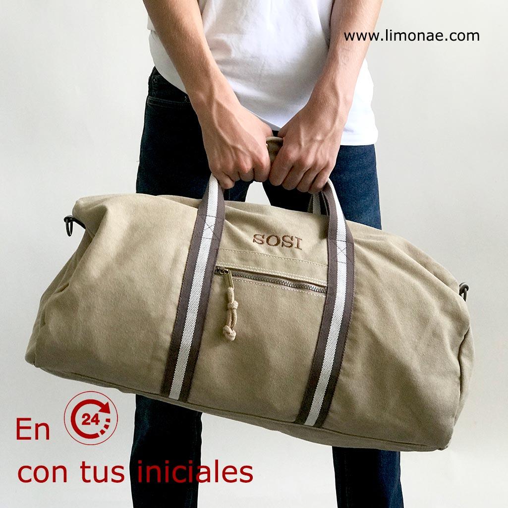 regalos originales para hombre bolsas de viaje con iniciales