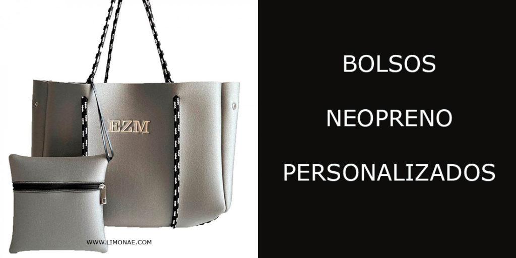 bolsos personalizados neopreno