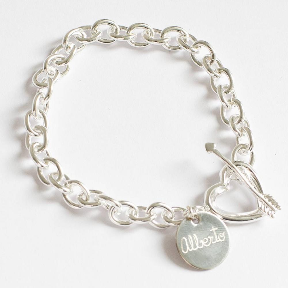 pulsera personalizada san valentin