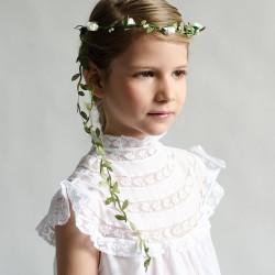 Corona de flores pequeñas