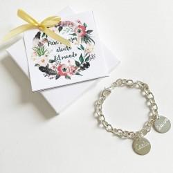 Regalo abuela pulsera personalizada