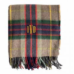Manta de lana escocesa