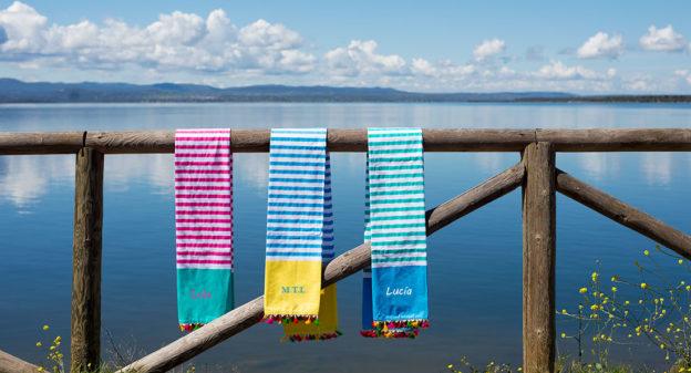 regalos originales. Toallas de playa personalizadas