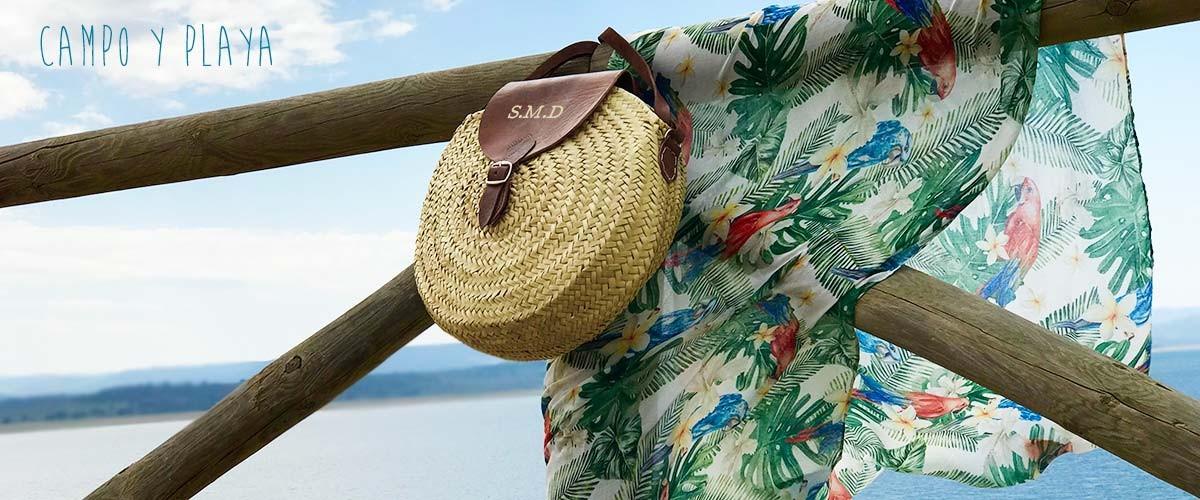Bolsos y toallas de playa personalizados